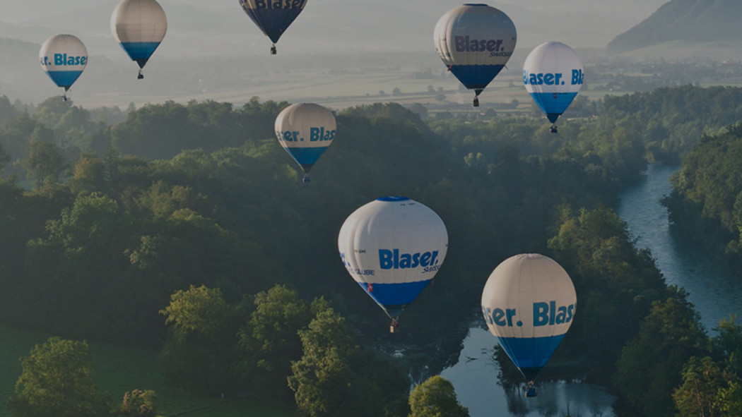 Case Blaser Website Relaunch